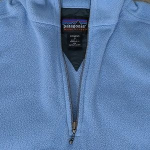 Patagonia Micro D-Luxe quarter zip sweater